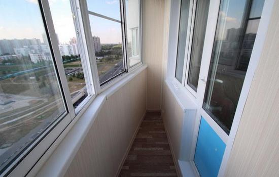 Остекление балкона п44т стоимость.